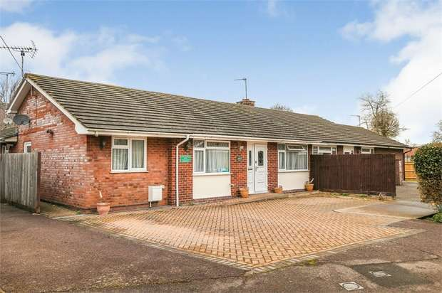 4 Bedrooms Semi Detached Bungalow for sale in Home Close, Weston Turville, Aylesbury, Buckinghamshire