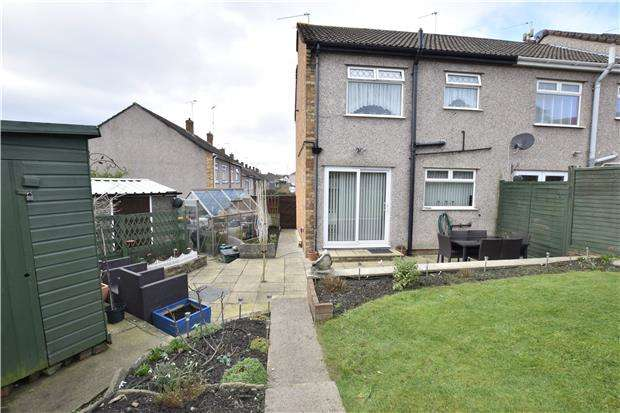 3 Bedrooms End Of Terrace House for sale in Kents Green, BRISTOL, BS15 1XU