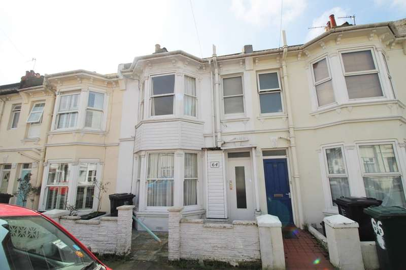 3 Bedrooms Terraced House for sale in Byron Street, Hove, BN3 5BB