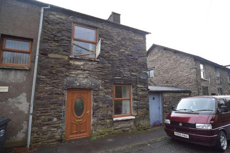 2 Bedrooms Semi Detached House for sale in Brow Edge Road, Backbarrow, Ulverston, Cumbria, LA12 8PP