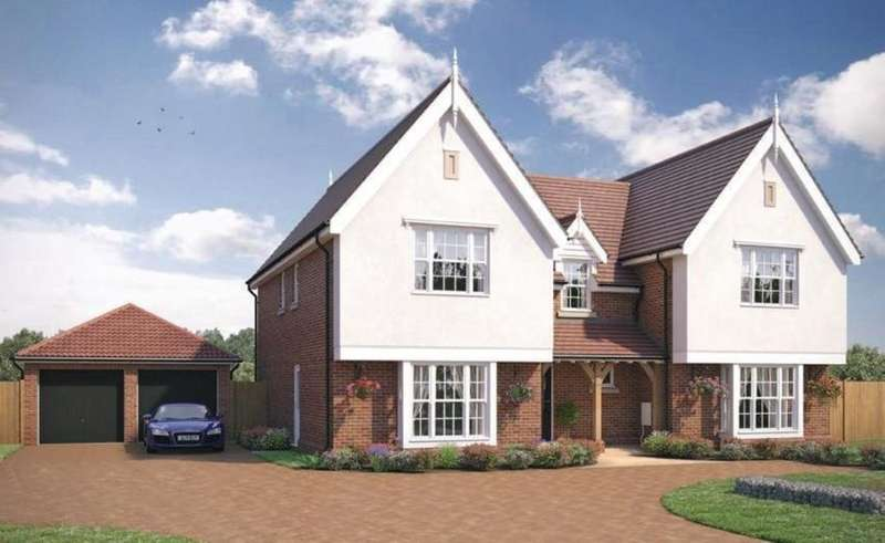 5 Bedrooms Detached House for sale in Little Bentley, Colchester, CO7 8SH