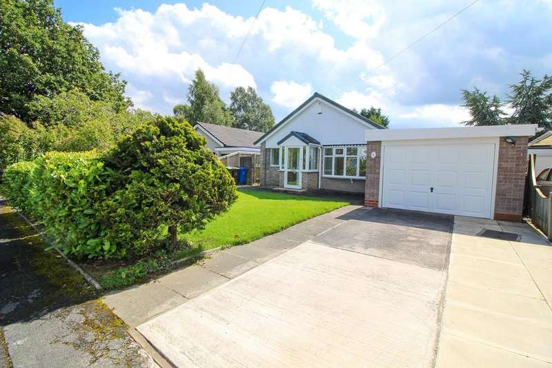 4 Bedrooms Detached Bungalow for sale in Blair Close, Hazel Grove, STOCKPORT, SK7