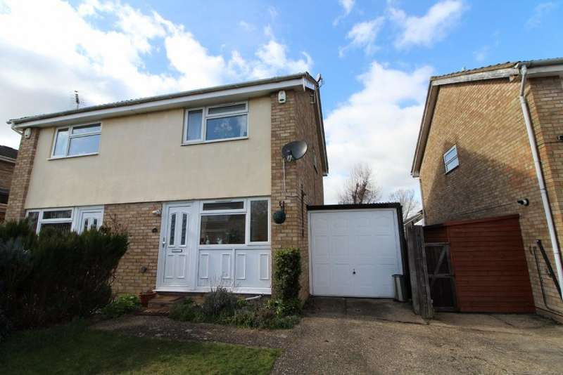 2 Bedrooms Semi Detached House for sale in Tennyson Drive, Newport Pagnell, Buckinghamshire