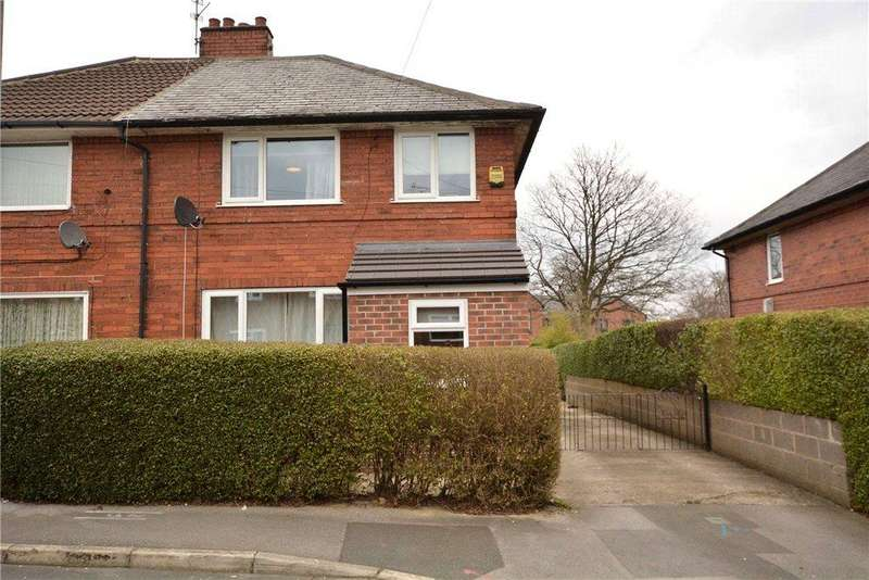 3 Bedrooms Semi Detached House for sale in Landseer View, Leeds, West Yorkshire