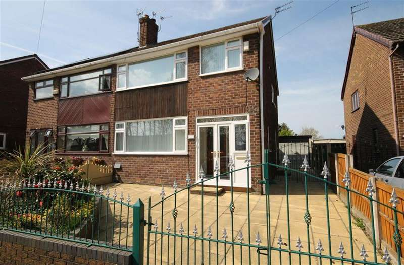 3 Bedrooms Semi Detached House for sale in Hale Road, Widnes, WA8 8XQ