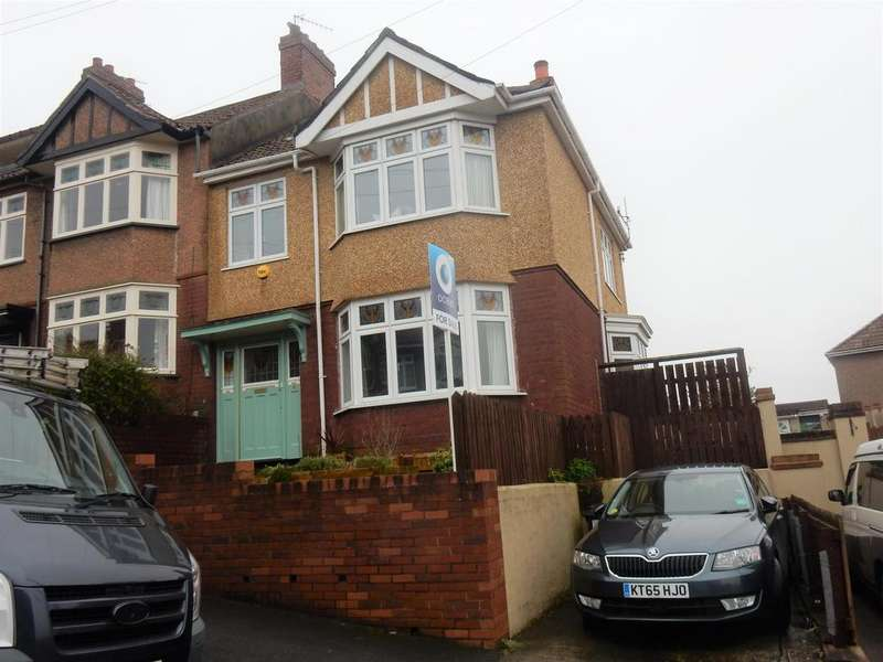 3 Bedrooms End Of Terrace House for sale in St Agnes Ave , Knowle, Bristol, BS4 2DU