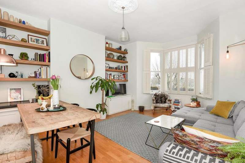 2 Bedrooms Flat for sale in Ferme Park Road, Stroud Green