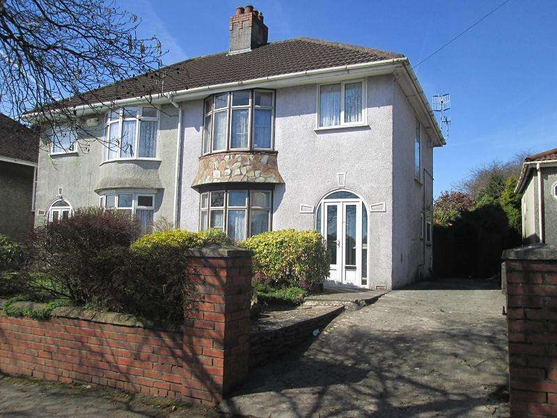 3 Bedrooms Semi Detached House for sale in Ravenhill Road, Ravenhill, Swansea, City And County of Swansea.