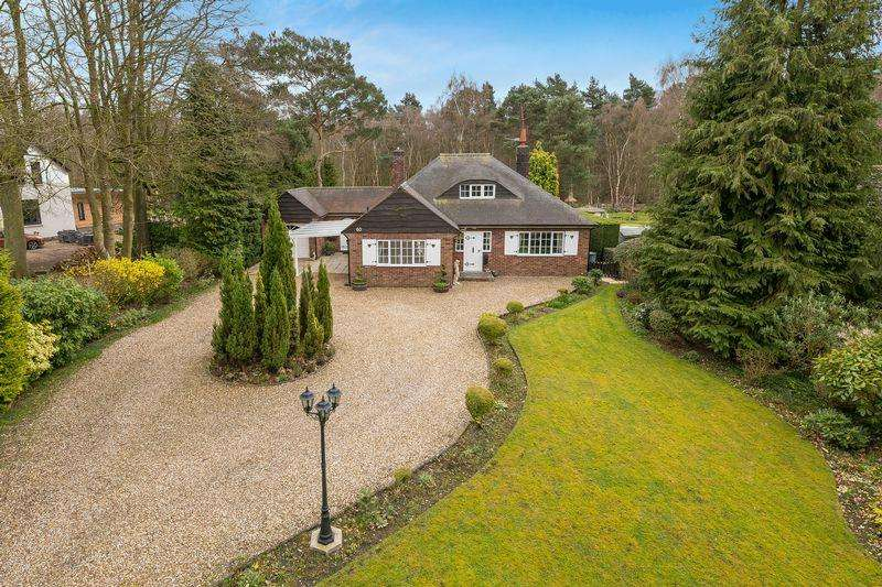3 Bedrooms Detached Bungalow for sale in Oak Lodge, 60 Horncastle Road, Woodhall Spa