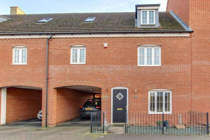 3 Bedrooms Town House for sale in Springham Drive, Colchester, CO4