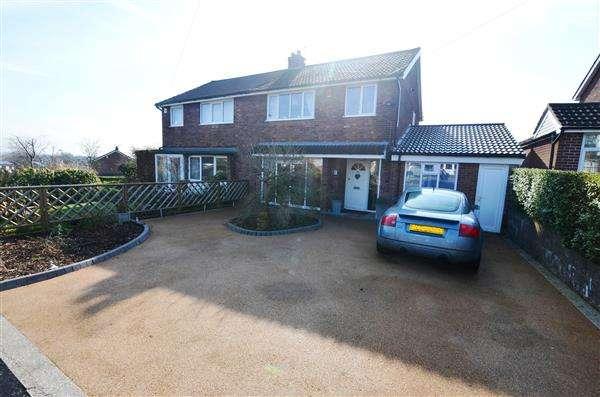 3 Bedrooms Semi Detached House for sale in Ridgmont Road, Seabridge, Newcastle