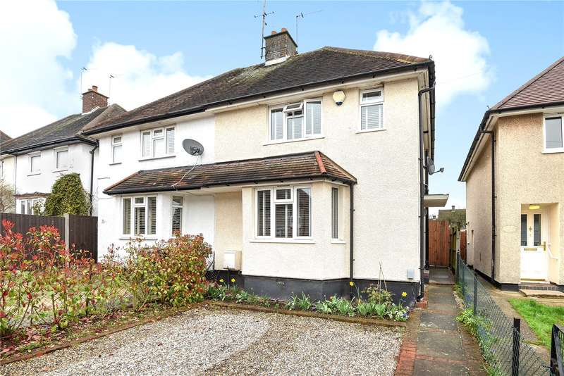 2 Bedrooms Semi Detached House for sale in Home Way, Mill End, Rickmansworth, Hertfordshire, WD3