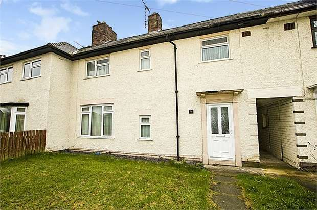 3 Bedrooms Terraced House for sale in Chevrons Road, Shotton, Deeside, Flintshire