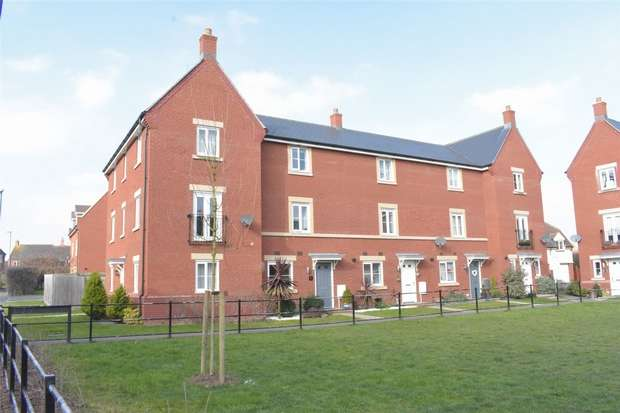 3 Bedrooms Terraced House for sale in Gainsborough Walk, Walton Cardiff, Tewkesbury, Gloucestershire