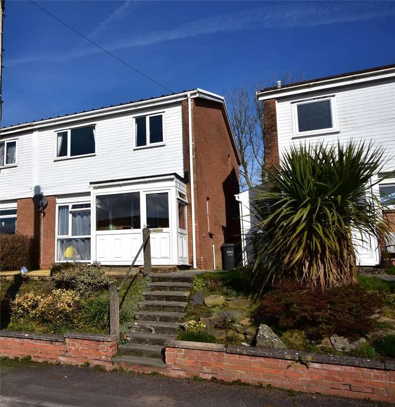 3 Bedrooms Semi Detached House for sale in Oakford Close, North Molton, South Molton, Devon, EX36