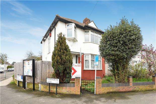 3 Bedrooms End Of Terrace House for sale in Tamworth Lane, MITCHAM, Surrey, CR4