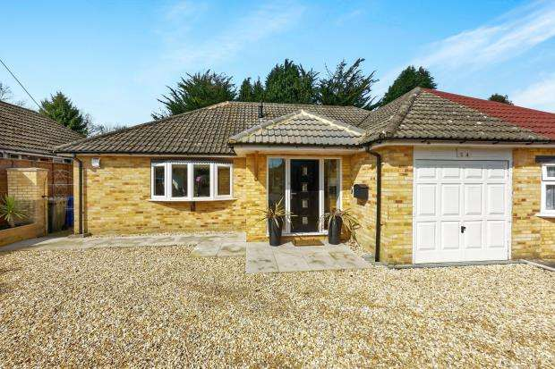 2 Bedrooms Bungalow for sale in Church Crookham, Fleet, Hampshire