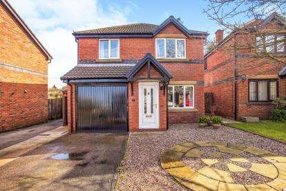 4 Bedrooms Detached House for sale in Brantwood Drive, Leyland, Lancashire, .