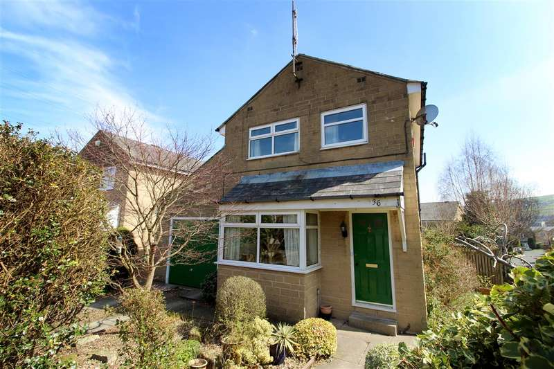 3 Bedrooms Detached House for sale in Hillside View, Halifax