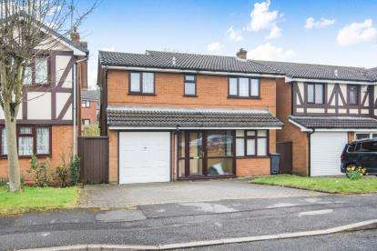 4 Bedrooms Detached House for sale in Statham Drive, Birmingham, West Midlands