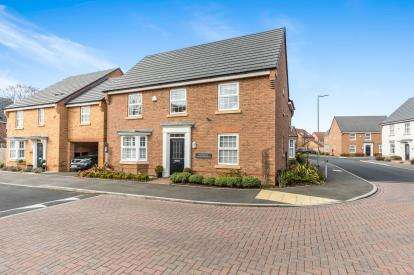 4 Bedrooms Detached House for sale in Rounds Road, Worcester, Worcestershire