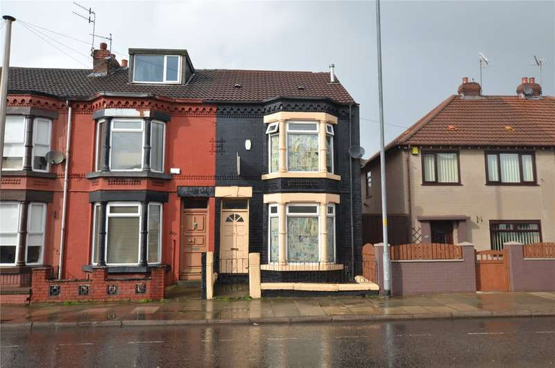 3 Bedrooms End Of Terrace House for sale in Marsh Lane, Bootle, Merseyside, L20