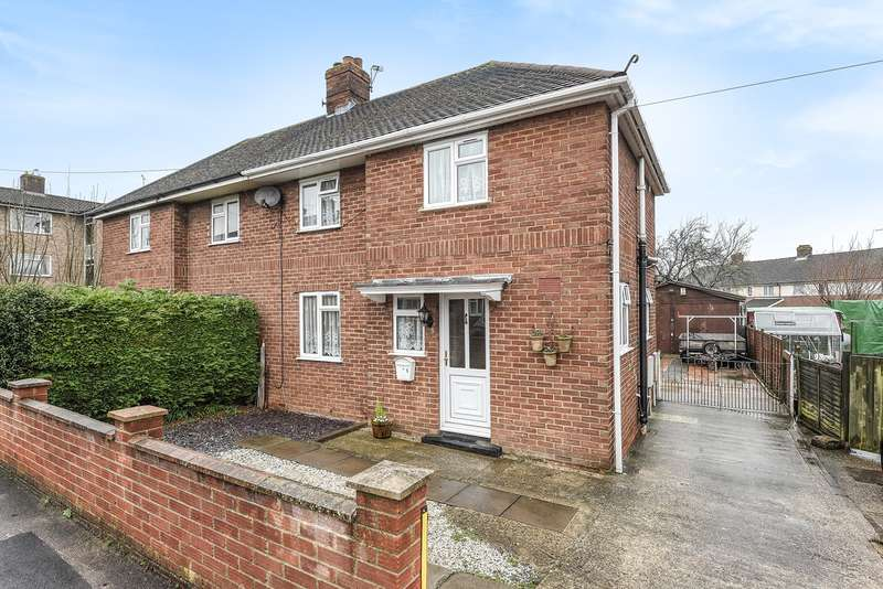3 Bedrooms Semi Detached House for sale in Bolton Crescent, South Ham, Basingstoke, RG22