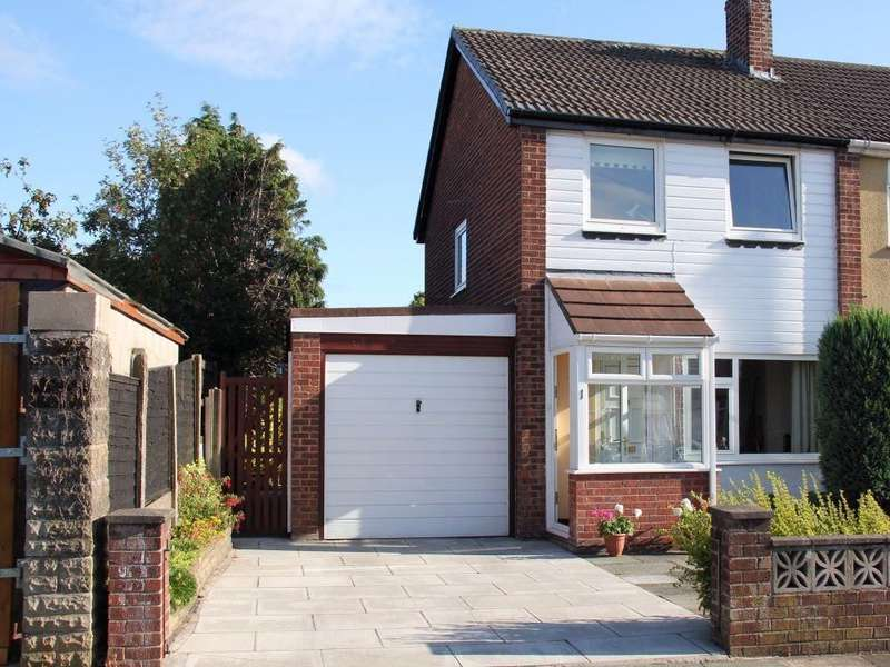 3 Bedrooms Semi Detached House for rent in Westleigh Place, Sutton Leach, ST HELENS, Merseyside
