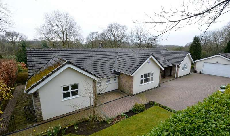 4 Bedrooms Detached Bungalow for sale in Coppice Lane, Disley