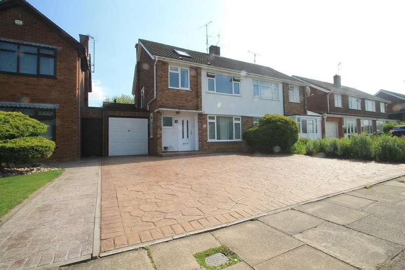 4 Bedrooms Semi Detached House for sale in Stirling Avenue, Aylesbury