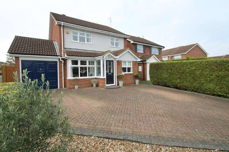 3 Bedrooms Detached House for sale in Nash Close, Aylesbury