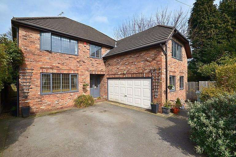 5 Bedrooms Detached House for sale in Knutsford Road, Alderley Edge
