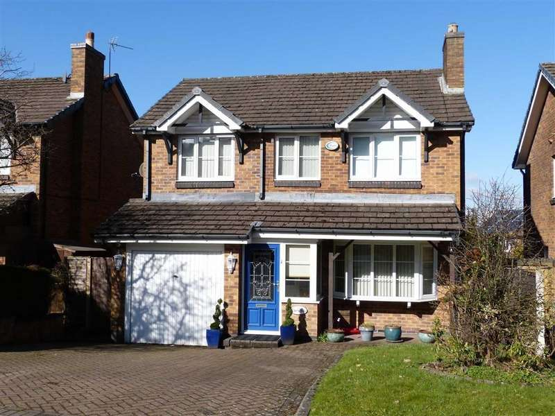 4 Bedrooms Detached House for sale in Shropshire Drive, Glossop