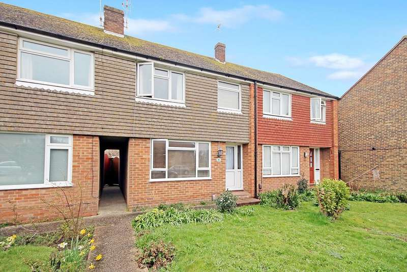 3 Bedrooms Terraced House for sale in Roedean Road, Worthing, West Sussex BN13 2BT