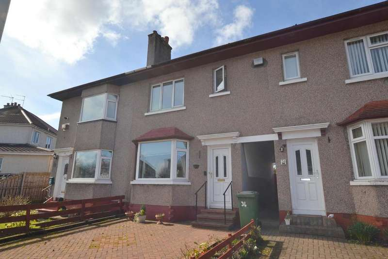 2 Bedrooms Terraced House for sale in 36 Barrachnie Crescent, Baillieston, GLASGOW, G69 6PF