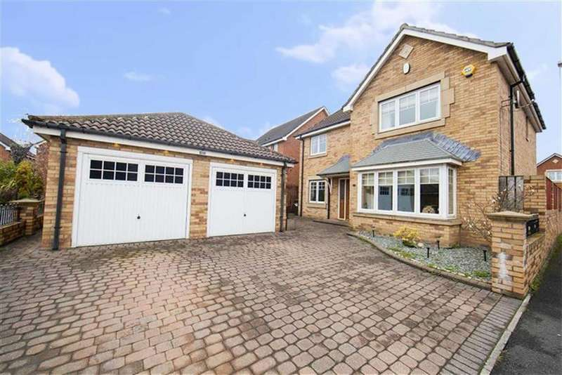 4 Bedrooms Detached House for sale in Kings Vale, Wallsend, Tyne And Wear, NE28