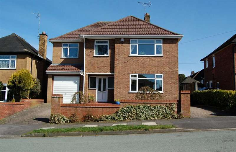 5 Bedrooms Detached House for sale in Kinnersley Avenue, Clough Hall, Kidsgrove