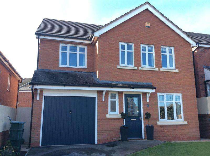 4 Bedrooms Detached House for sale in Rhodfa Brenig, Upper Colwyn Bay