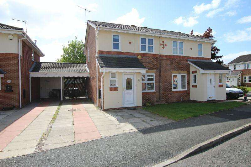 3 Bedrooms Semi Detached House for rent in Hilbre Drive, Ellesmere Port
