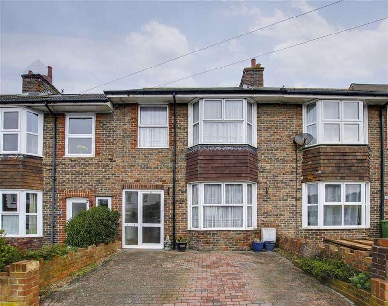 3 Bedrooms Terraced House for sale in Hindover Road, Seaford