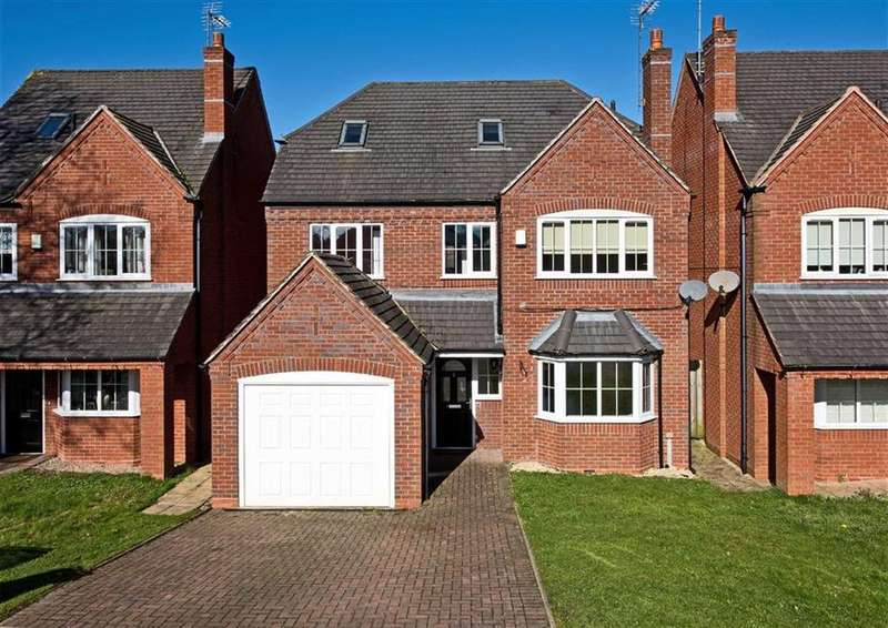 5 Bedrooms Detached House for sale in 3, Mirbeck Close, Finchfield, Wolverhampton, WV3