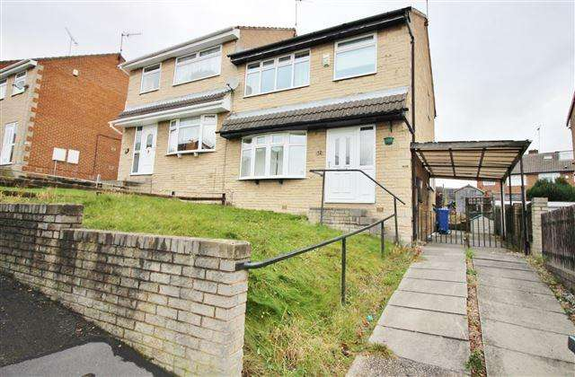 3 Bedrooms Semi Detached House for sale in Taunton Avenue , Wincobank, Sheffield , S9 1JS