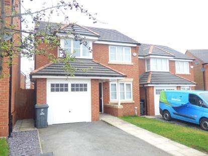3 Bedrooms Detached House for sale in Shackleton Avenue, Widnes, Cheshire, WA8