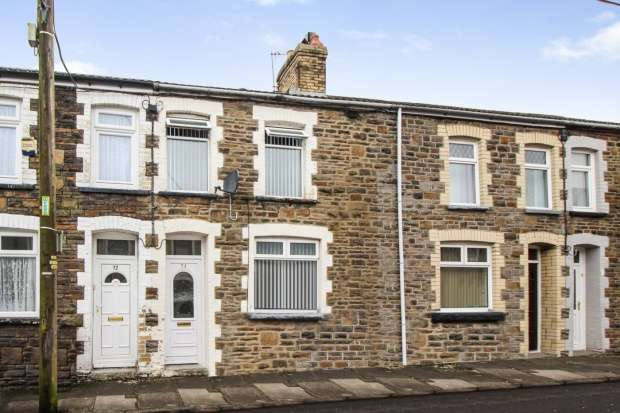 3 Bedrooms Terraced House for sale in Greenfield, Bargoed, Mid Glamorgan, CF81 8RW