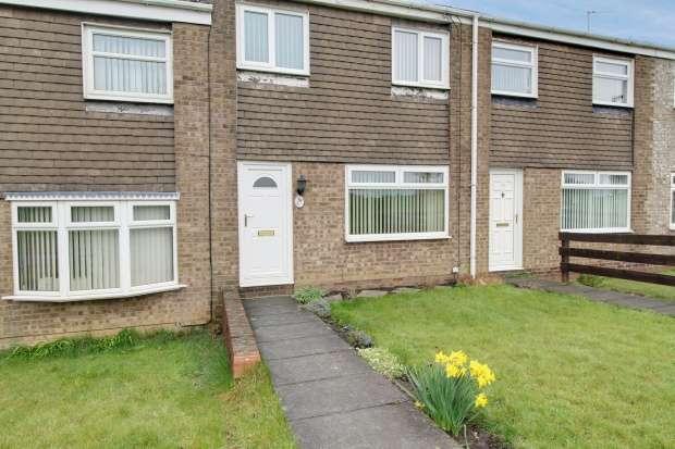 3 Bedrooms Terraced House for sale in Falmouth Walk, Cramlington, Northumberland, NE23 1RU