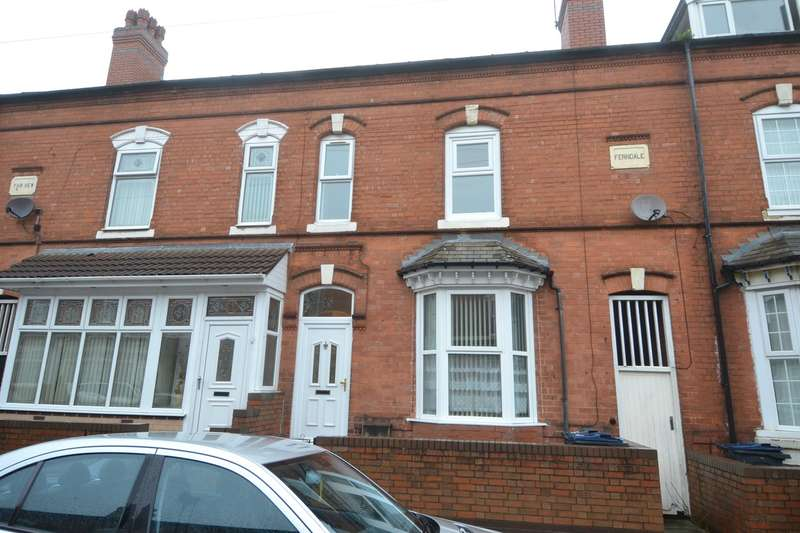 3 Bedrooms Terraced House for sale in Fulham Road, Sparkhill, Birmingham, B11