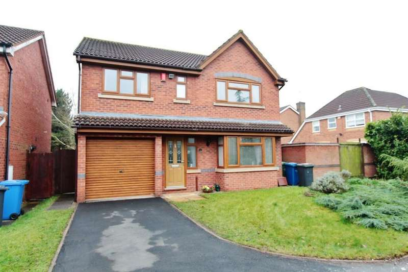 4 Bedrooms Detached House for sale in Campion Drive, Kettlebrook
