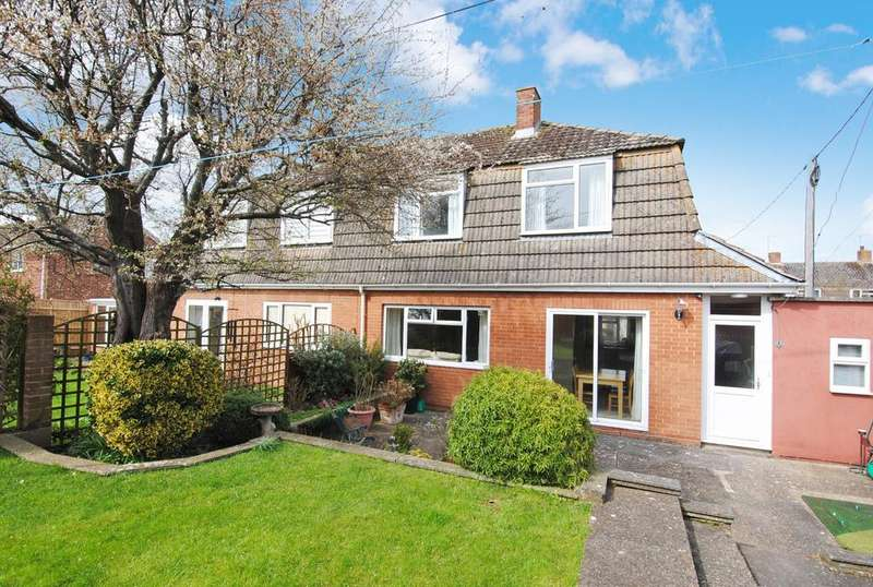 3 Bedrooms Semi Detached House for sale in St Leonards Close, Bulford, Salisbury, SP4 9DL