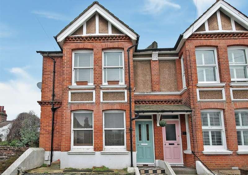 2 Bedrooms Maisonette Flat for sale in Landseer Road, Hove, Brighton BN3 7AF