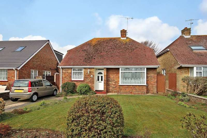 3 Bedrooms Detached Bungalow for sale in Palatine Road, Goring-by-sea, Worthing BN12 6JW